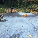 Clear Creek road repair, by Mark Hanna