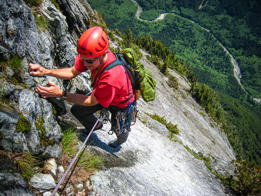 Curt Veldhuisen on pitch 19 of Infinite Bliss, by Jason Griffith
