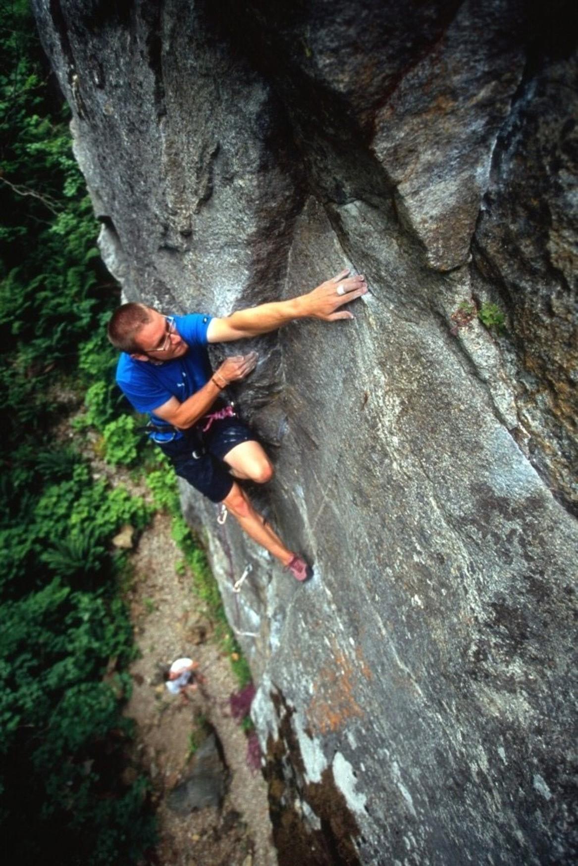 Luke Distelhorst at Newhalem by Kris Taylor.