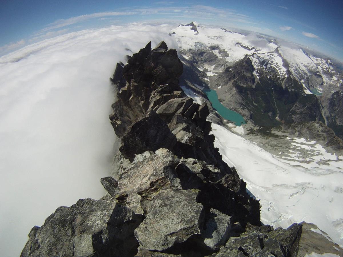 West Ridge of Forbidden Peak, stolen from cascadeclimbers.com
