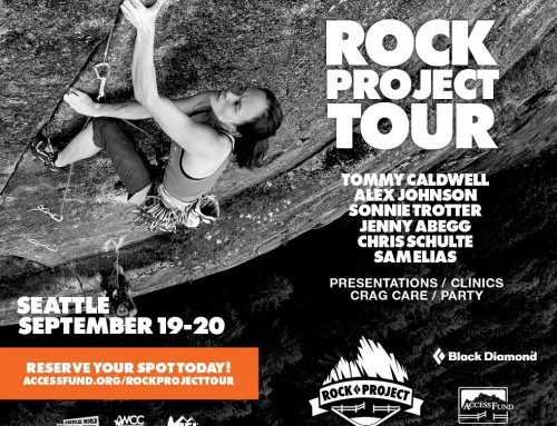 The Access Fund and Black Diamond Rock Project Tour